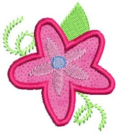Free retired download - Funky Flowers Applique - download for free!