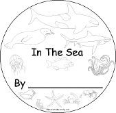 Ocean Unit booklet for early readers
