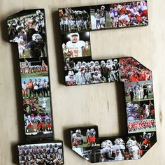 Senior Night Gifts For High School Athletes College Sports Lovers And Coaches Handmade Customized Photo Collages On Jersey