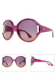 Emporio Armani   City Chic   Gafas de Sol Rosa Púrpura Paraguas, Gafas De  Sol 3c9447f986