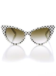 d403247fafa7 Every girl needs a little bit of polka dots in their wardrobe Retro Style  Polka Dot Sunglasses  Cat eye sunglasses   vintage style sunglasses