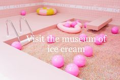 After inspiring sweet tooths in LA and NYC with their entrancing spaces, the Museum of Ice Cream is taking their sugary passion to San Francisco. The Cali-based addition will officially open its doors on September 17 at the historic 1 Grant Avenue. Ice Cream Museum, Retail Trends, San Francisco, Adventure Bucket List, All I Ever Wanted, Pop Up Shops, Summer Bucket Lists, Before I Die, Paradis