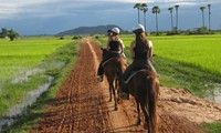The Happy Ranch in Siem Reap / Angkor Wat, Cambodia ... a great break from the temples.