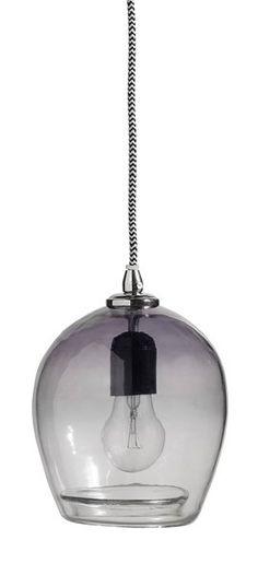 Hanglampen  'BUBBLE' van Nordal, zoals deze variant in 'Blauw' zijn van helder glas met een kleuraccent . Lampen Nordal kopen? Neem hier een kijkje!