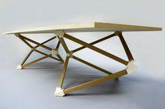 Hedrons Table by Benjamin Migliore   MOCO Vote