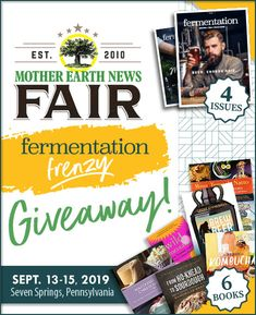 Canning Vegetables, Seven Springs, Mother Earth News, Cook Off, Buy Flowers, Medical Cannabis, Beer Brewing, Kombucha, Sign I