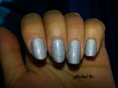 Trying out our new holo!   Check out our page for more nail fun :) #nail