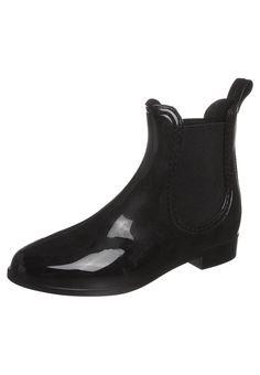 Stylische Gummistiefeletten für Frauen! Juju Gummistiefel - black für 20,95 € (19.02.16) versandkostenfrei bei Zalando bestellen.