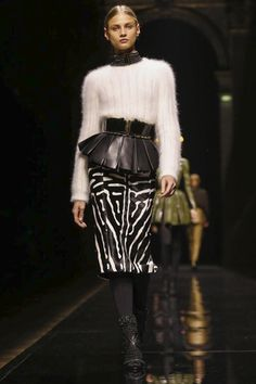 Balmain Ready To Wear Fall Winter 2014 Paris - NOWFASHION