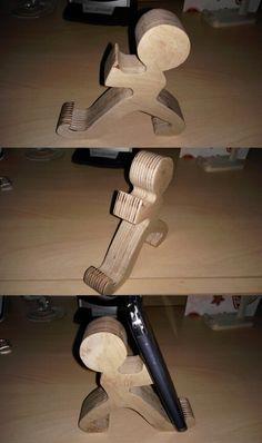 Wood Mobile Phone holder-1