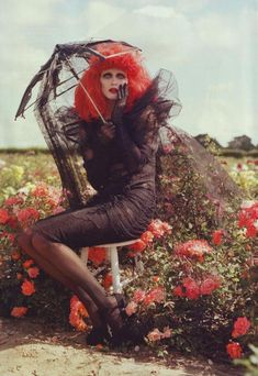 Tim Burtons Tricks and Treats for Harpers Bazaar 2009. An old editorial, but one of my favorites!