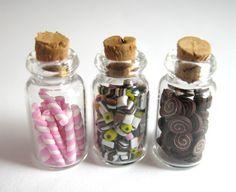 Doll+House+Miniature+Food+3+Jars+of+Sweets £12.00
