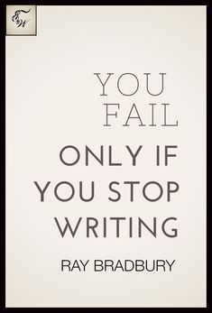 Ray Bradbury #quotes #writing