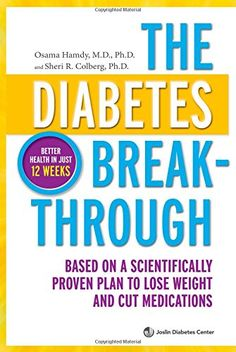 The Diabetes Breakthrough: Based on a Scientifically Proven Plan to Lose Weight and Cut Medications by Osama Hamdy http://www.amazon.com/dp/0373892845/ref=cm_sw_r_pi_dp_aZ0Hvb053VZMH
