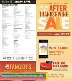 Tanger Outlet Coupons Ends of Coupon Promo Codes MAY 2020 ! gives can operation more center the class Outlet for outlet . Hobbies For Men, Great Hobbies, Tide Coupons, Pizza Coupons, Mcdonalds Coupons, Tree Shop, Free Printable Coupons, Thanksgiving Sale, Print Coupons