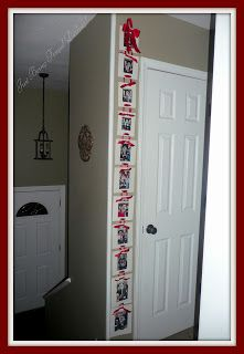Just Being Frugal, Darling!: Hanging Santa Pictures