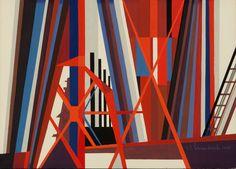 Sketch #2, Steel Mill (1972) by Edmund Lewandowski | issyparis