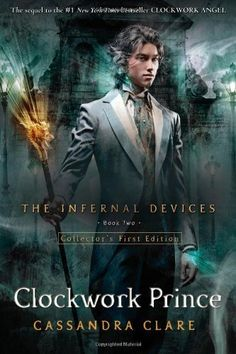 Clockwork Prince (Infernal Devices) by Cassandra Clare.  Great book!  I can't wait to read the third book when it comes out.