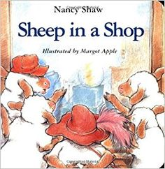 Sheep in a Shop PDF By:Nancy E. Shaw Published on by Houghton Mifflin Harcourt Sheep hunt for a birthday present and make havoc of t. Little Free Libraries, Free Library, Library Ideas, Deaf Children, Money Book, Houghton Mifflin Harcourt, Work With Animals, Son Love, Teaching Materials