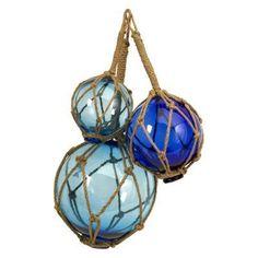 Buoyant Glass Floats - Set of 3 - 50890-3