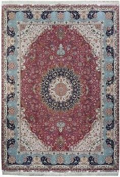 Signature Top Quality Persian Tabriz Rug IRAN 70 Raj (500 KPSI)