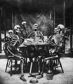Dead man's party. I wish I had this framed up in my dining room >:D