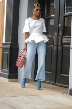 This Domain Has Expired Black Girl Fashion, Diva Fashion, Denim Fashion, Cute Fashion, Fashion Looks, Classy Outfits, Chic Outfits, Fashion Outfits, Weekend Wear