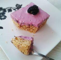 Fit koláčik s tvarohom Sweet Recipes, Cheesecake, Fitness, Pudding, Cooking, Desserts, Food, Basket, Lemon