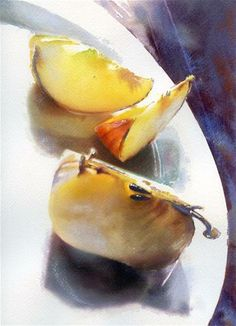 """Gala Apples"" - Original Fine Art for Sale - © Pamela Harnois"