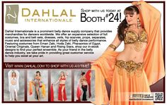 Shop with Dahlal at the Las Vegas Belly Dance Intensive and Festival -- Sept 6-9, 2012