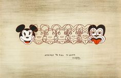 """""""Mickey to Tiki Tu Meke"""" is a wonderful print by one of New Zealand's favourite artists, Dick Frizzell. Frizzell has humourously morphed Mickey Mouse into the tiki, a New Zealand design icon. Art Prints, New Zealand Art, Fine Art, Maori Art, Art Reproductions, Art Studies, Art, Pop Art, Nz Art"""