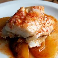 Fish Recipes, Seafood Recipes, Le Chef, Fish And Seafood, Pork, Eggs, Meat, Breakfast, Queso