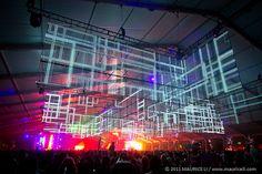 light installation by Muti Randolph