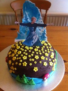 Sound of music cake