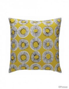 Habitat throw cushion.  Would love this on a wooden bench in a dining room, on a sofa, outside on a chaise, anywhere!