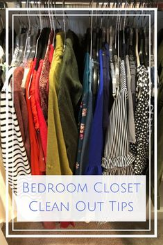 Bedroom Closet Clean Out Tools and Tips - Having an organized closet will save you time and stress.   #organize #sponsored #closet #household #cleaning #tips #tools #clody #organization #GladTortureTest