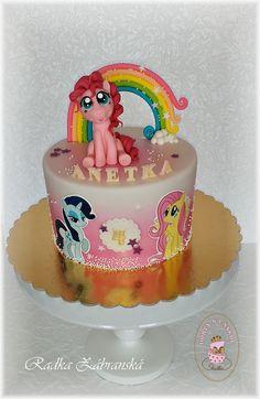 Radka - dorty s láskou - Fotoalbum - Dětské My Little Pony Cake, Cupcake Cakes, Cupcakes, Occasion Cakes, Cake Batter, Beautiful Cakes, Cake Designs, Birthday Cakes, Cute Kids