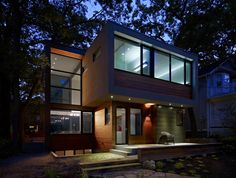 House for families in Toronto, Altius Architecture.