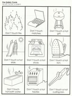 Squish Preschool Ideas: Fire Safety