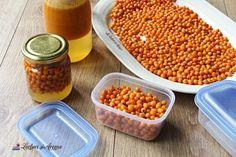 Cum prepari cătină cu miere la borcan. Beneficii și contraindicații - Lecturi si Arome Beans, Vegetables, Health, Food, Health Care, Essen, Vegetable Recipes, Meals, Yemek