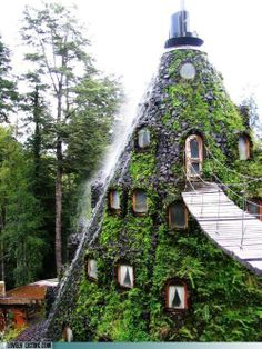 The Magic Mountain Lodge in Chile