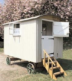 one day I AM going to get a shepherd's hut...
