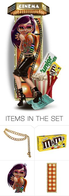 """""""Tattoos... Let's All Go to the Movies"""" by marvy1 ❤ liked on Polyvore featuring art"""