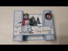 Pop Up Christmas Cards, Christmas Card Sayings, Christmas In July, Xmas Cards, Holiday Cards, Christmas Trees, Fancy Fold Cards, Folded Cards, Step Card