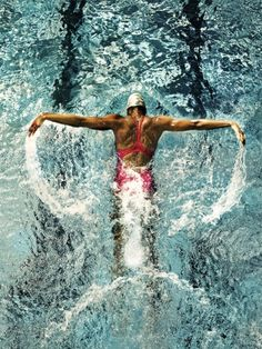 If you want a great body, fast, you should probably become a swimmer  Truth.
