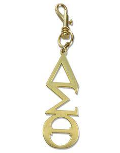 Delta Sigma Theta Greek Symbol Handbag Charm Keychain GOLD – 1-800-LOVE-DST Delta Sigma Theta Gifts, Delta Sorority, Housewarming Party Games, Delta Symbol, Figured You Out, Greek Symbol, Delta Girl, Sorority Life, Now And Forever