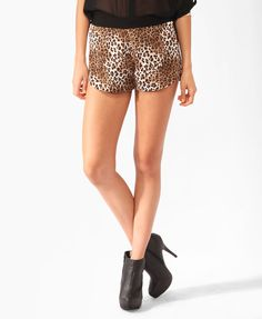 High-Waisted Mesh Dolphin Shorts | Forever 21 - 2000137965 | 80*F ...