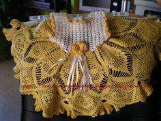 CROCHET DE ANTONIA: VESTIDOS NIÑA DE CROCHET DE 6 A 12 y 24 MESES Crochet Girls, Crochet For Kids, Crochet Baby, Crochet Top, Little Girl Dresses, Little Girls, Girls Dresses, Baby Dresses, Crochet Clothes
