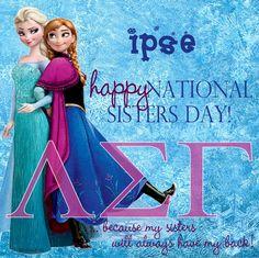 ΛΣΓ - national sisters day