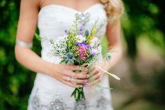 Beautiful Wildflower Bridal Bouquet - Blackbox Photography